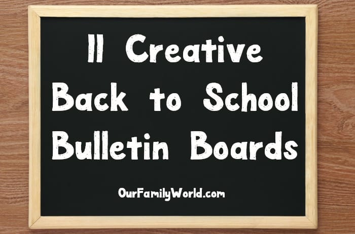 Looking for creative ways to stay organized during the school year? You need to check out these super creative back to school bulletin boards!