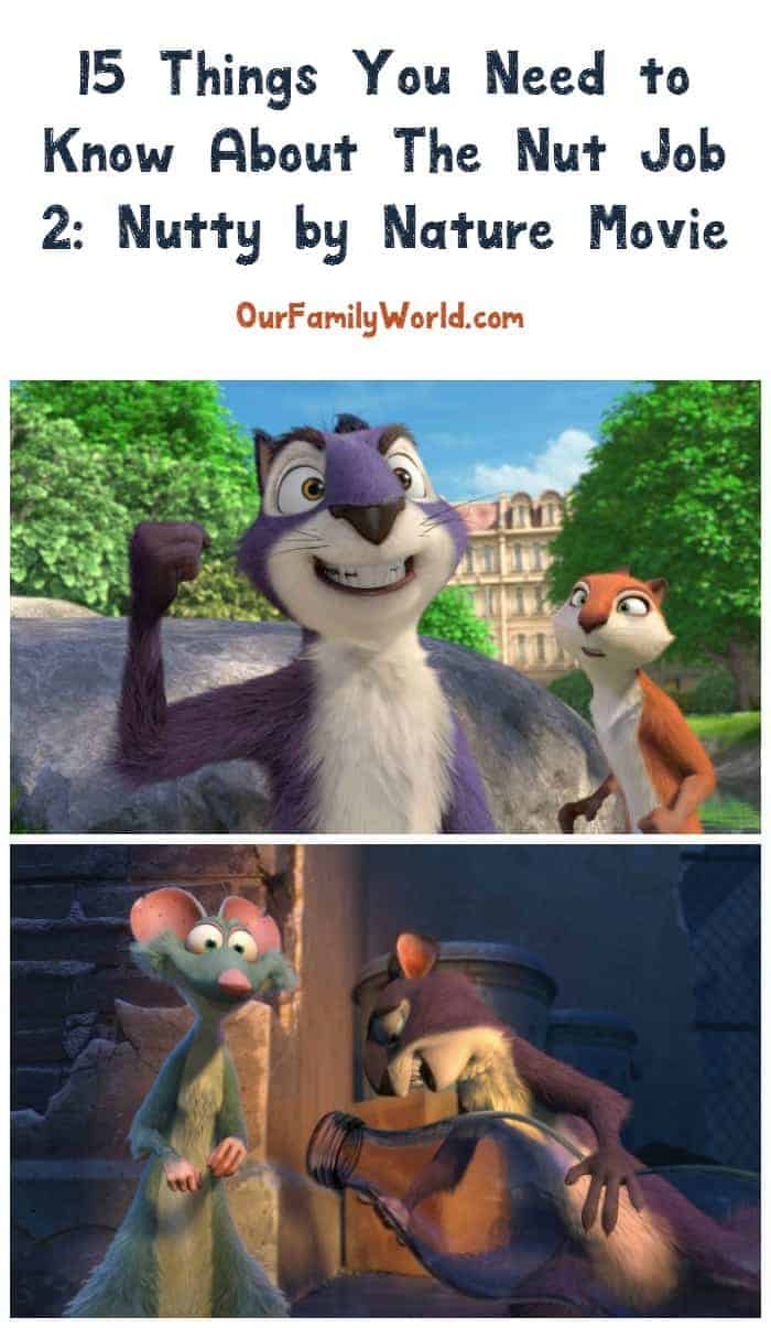 Can't wait to see what Surly Squirrel & the gang are up to? Check out 15 awesome The Nut Job 2: Nutty by Nature movie quotes and trivia!