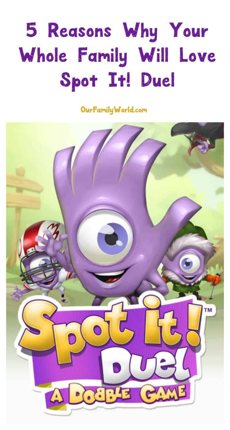 Looking for a game your whole family will love? Check out our Spot It! Duel app review & see why this is the game your family will beg to play!