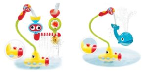 Learn the benefits of and safety tips for bathing with your baby, plus check out two really awesome tub time toys your baby will love!