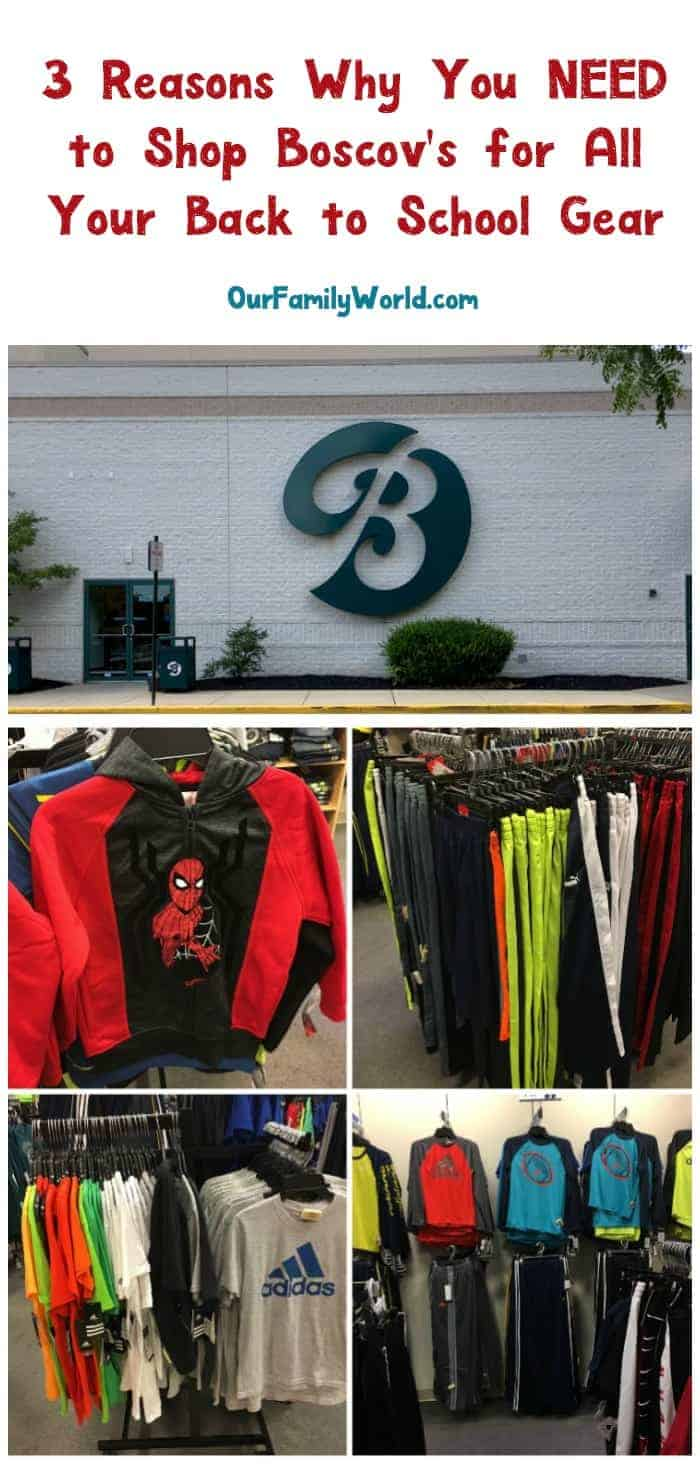 Check out my top 3 reasons for why Boscov's is a back to school shopping procrastinator's dream come true! You won't believe how little I paid for my huge haul!