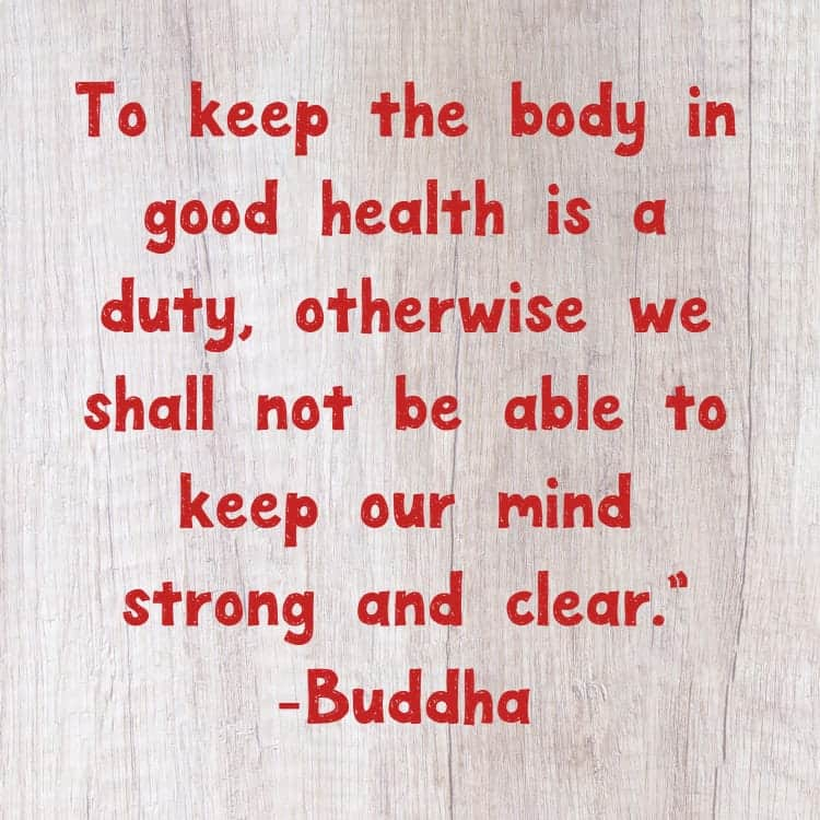 Good Health Quotes Best 11 Quotes To Inspire Health And Wellness  Our Family World