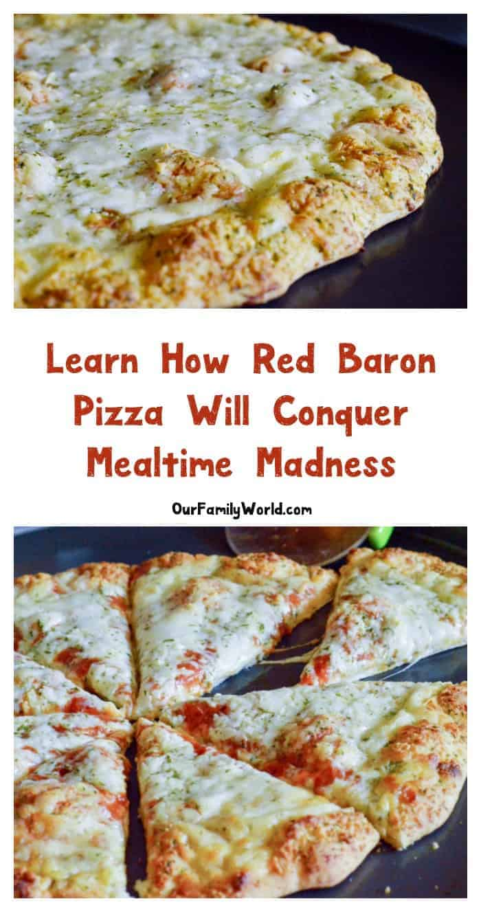 We've found the secret to conquering mealtime madness and you won't believe how easy it is! Find out how Red Baron® came to our rescue!