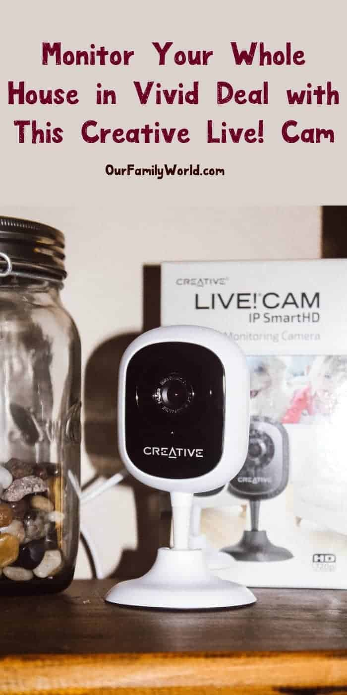 Looking for a way to monitor everything from your baby to your pets in vivid detail without spending a fortune? You'll love Creative Labs! Cam IP SmartHD! Check it out!