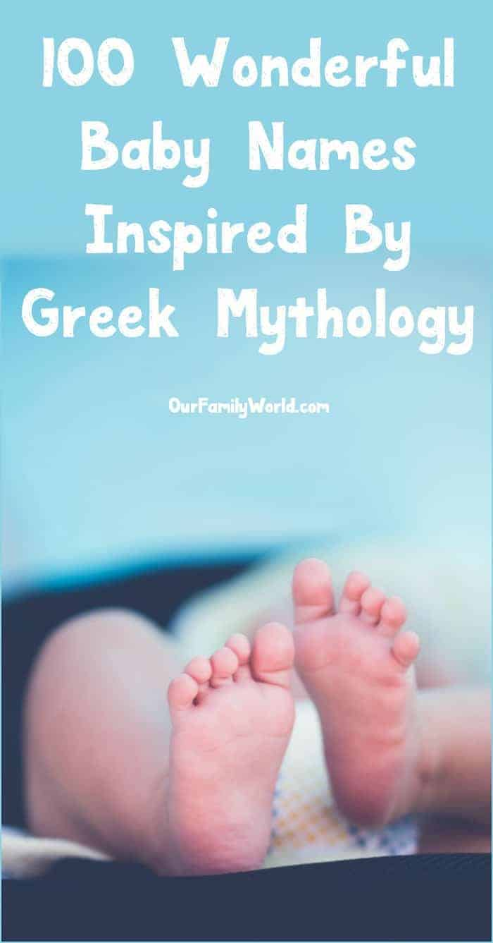 Looking for baby names inspired by Greek mythology? Check out our massive list of 100 names, from the most popular and common to some totally unique monikers for both boys and girls!