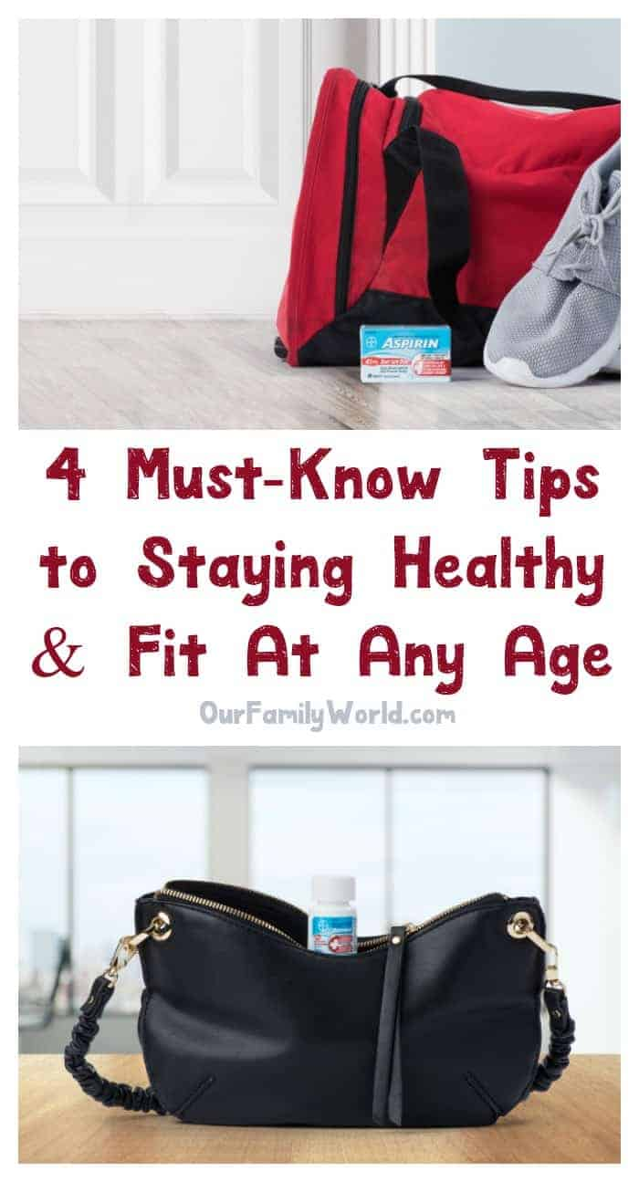 Check out 4 must-know tips for staying healthy at any age and prepare now for what's to come in your future!