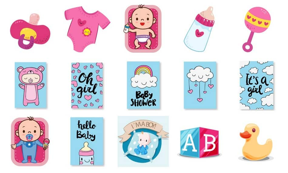 "Looking for a fun way to announce your pregnancy through iMessage without just saying ""hey, I'm pregnant""? You have to check out BabyMoji, the cutest baby stickers!"