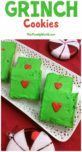 Your heart will grow two sizes for sure when you bite into these yummy Grinch cookies! Trust me, your own little Whos are going to love this fun Christmas dessert recipe!