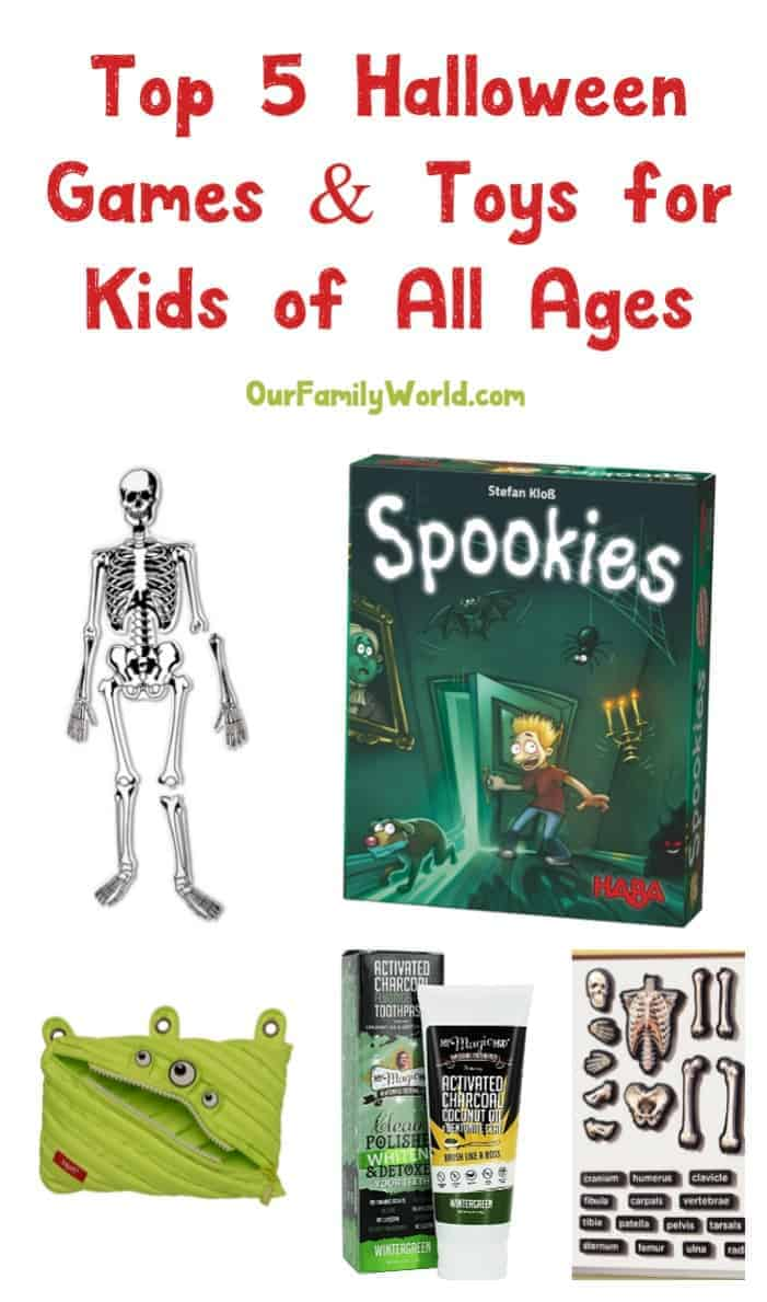 Top Travel Toys Games For Kids : Top halloween games toys for kids of all ages