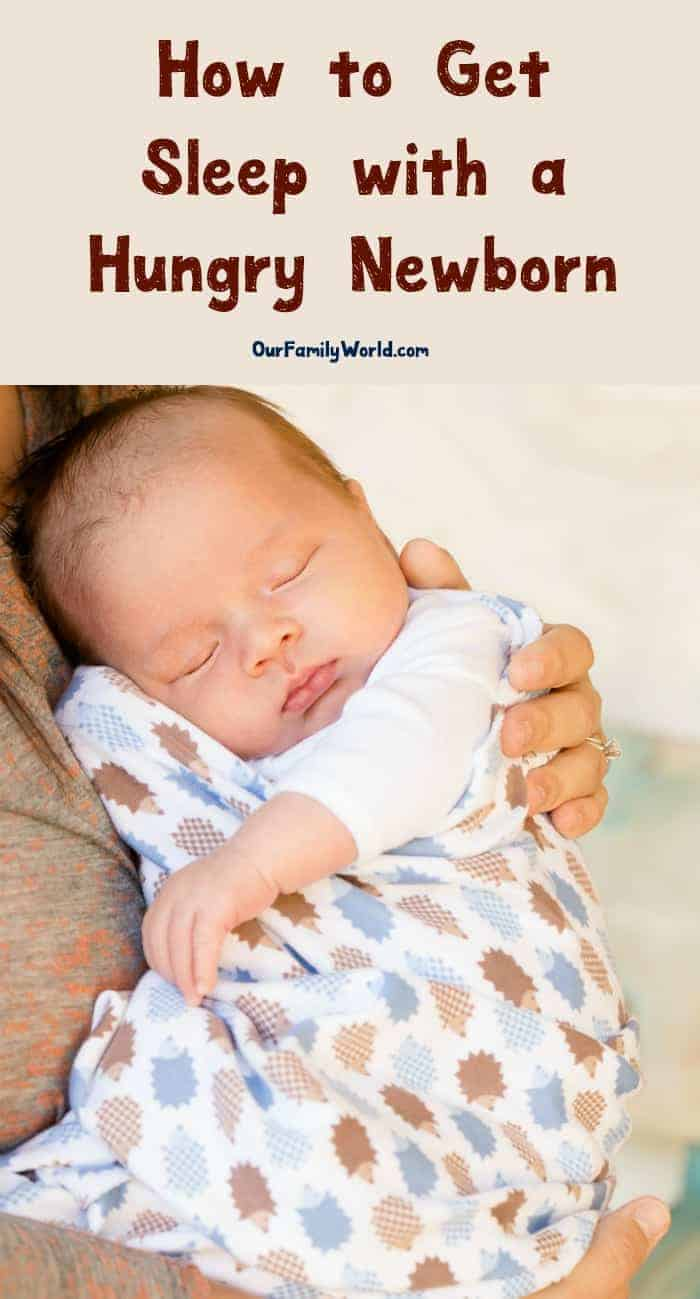 Hungry newborn wreaking havoc on your ability to sleep? We've got six tips that will help you catch those much needed zzzs and still make sure your baby is happy! Check them out!