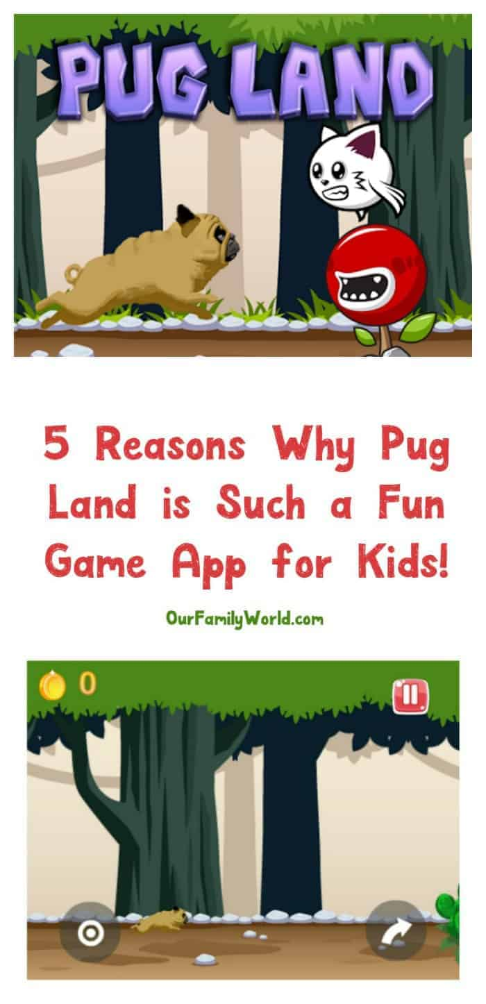 Looking for a fun game app for kids who love dogs? Let me introduce you to Pug Land, an adorable new game that will test your kids' reflexes in the most darling way! Read on for 5 reasons why your kids will love it!