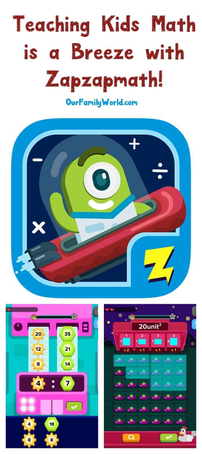 Looking for a fun way to teach kids from ages 5-12 everything they need to know about math? You're going to love Zapzapmath. It's so fun, even I'm addicted to it!