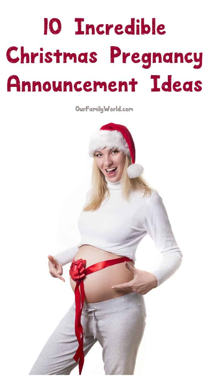 What better time than the holidays to share your big news? Need inspiration? Check out 10 Christmas pregnancy announcement ideas we love!