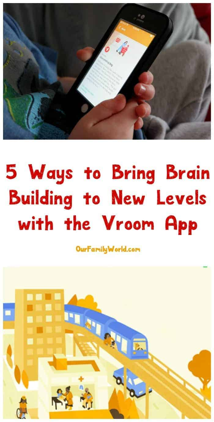 Want to turn everyday moments into meaningful learning experiences for your child? You definitely need the new Vroom app! It's part of a whole toolset created by the Bezos Family Foundation that makes it super easy to find teaching moments throughout your daily routine. Sit back, relax, and check out my Vroom app review to find out just why I'm loving it so much!
