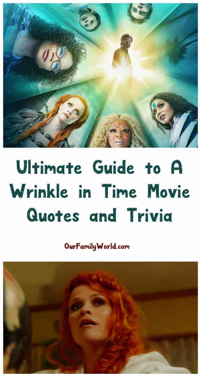 A Wrinkle In Time Movie Quotes And Trivia Your Ultimate
