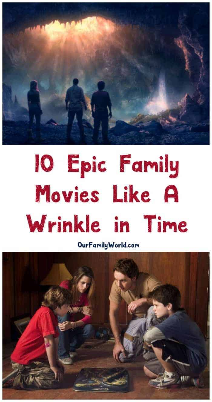 "Looking for more fabulous family adventure movies like A Wrinkle in Time? We've got you covered! I've been on an ""epic adventure"" binge lately. Check out some of my favorite flicks for family movie night!"