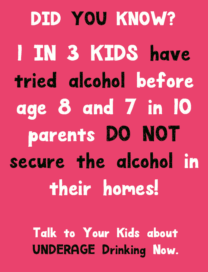 Nervous about talking to your kids about alcohol? These 5 tips helped me get through it! Check out 5 tips for talking to kids about underage drinking and find out where to get more help!