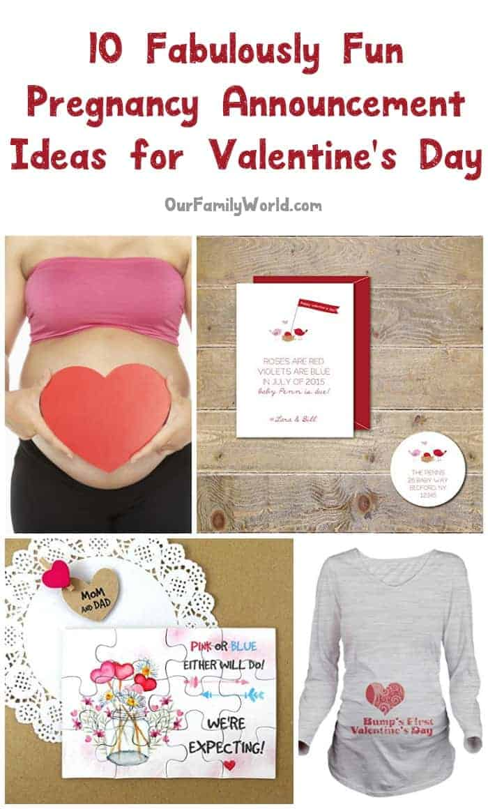 Looking for some clever pregnancy announcement ideas for Valentine's Day? We've got a whole new batch of cute ideas that are just perfect for your February baby announcement! Let's check them out, shall we?