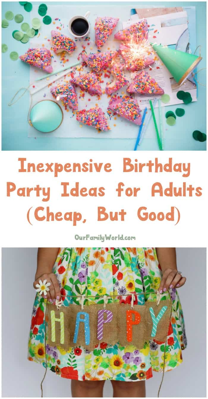 party ideas for adults inexpensive birthday ideas for adults the 12656