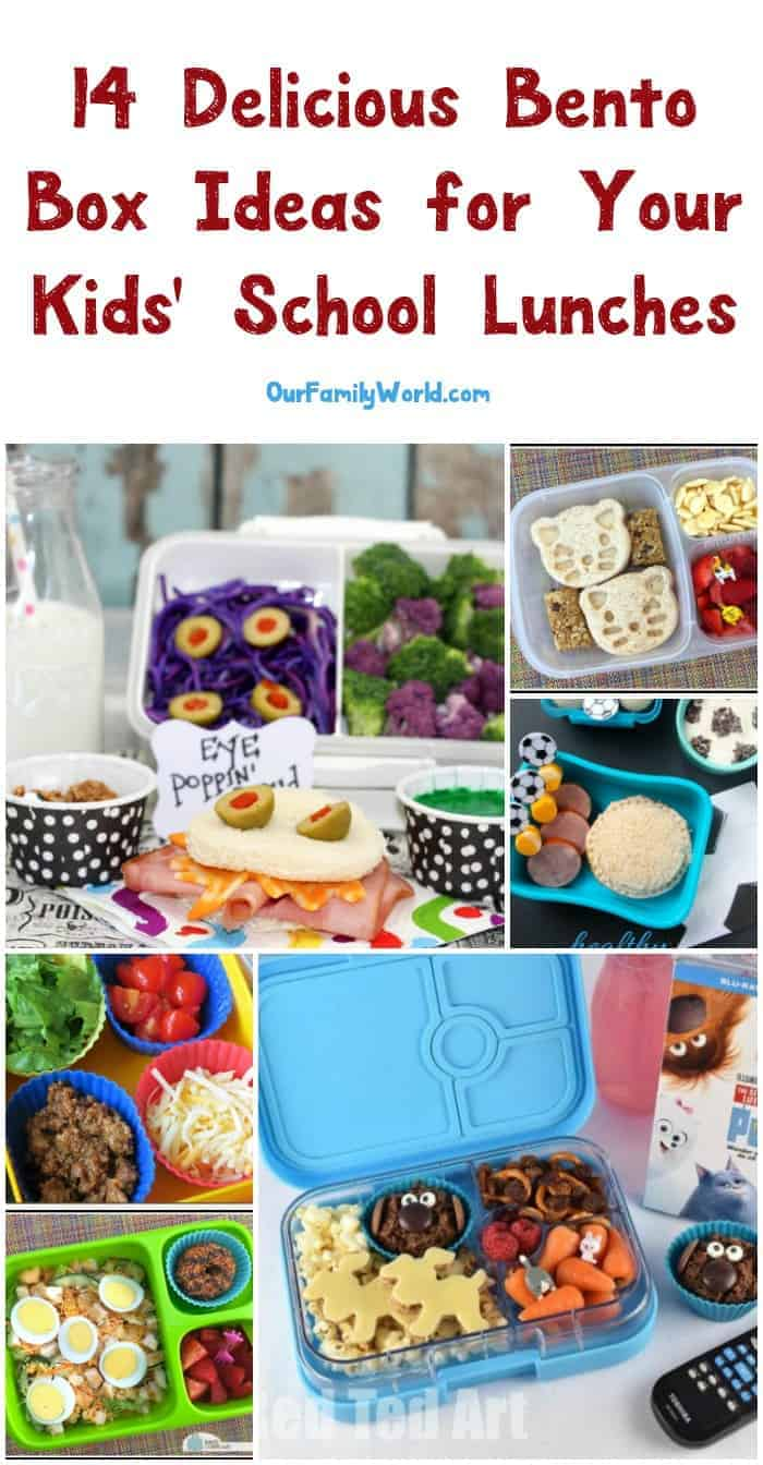14 Yummy Bento Box Ideas For School Lunches Ourfamilyworld