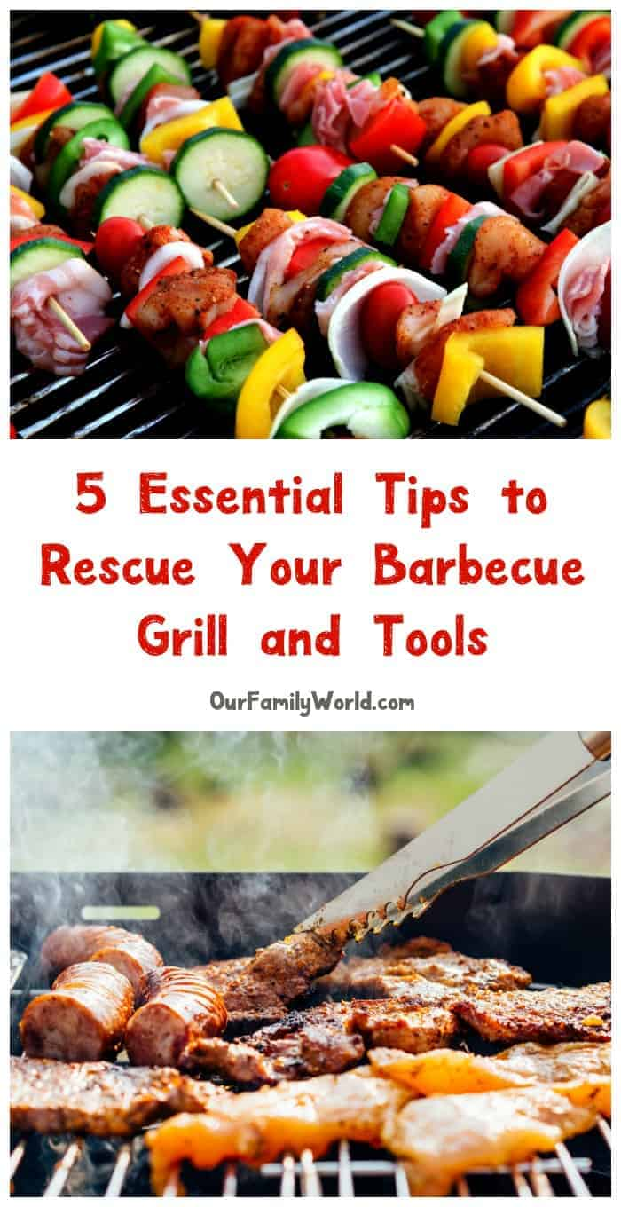We've got all the tips you need to rescue your barbecue grill and tools! See what I'm doing to make sure my BBQs are fondly remembered for great food and fun every time!