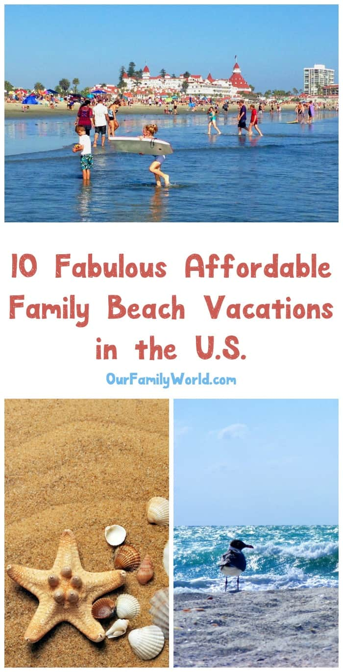 10 affordable family beach vacations in the u s for The cheapest beach vacation