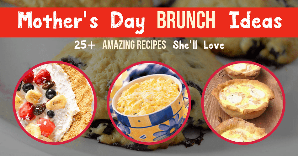 Mom cooks you breakfast somewhere around 364 days a year, right? Well, why not return the favor and make her a delicious brunch recipe this Mother's Day. Check out our huge collection of Mother's Day brunch recipes!