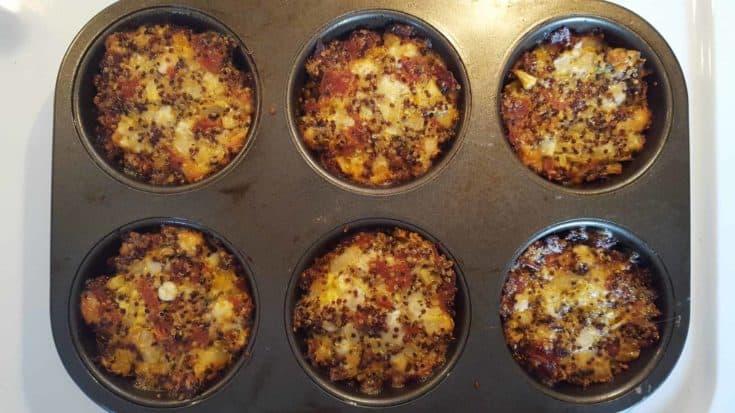 Quinoa Pizza Bites