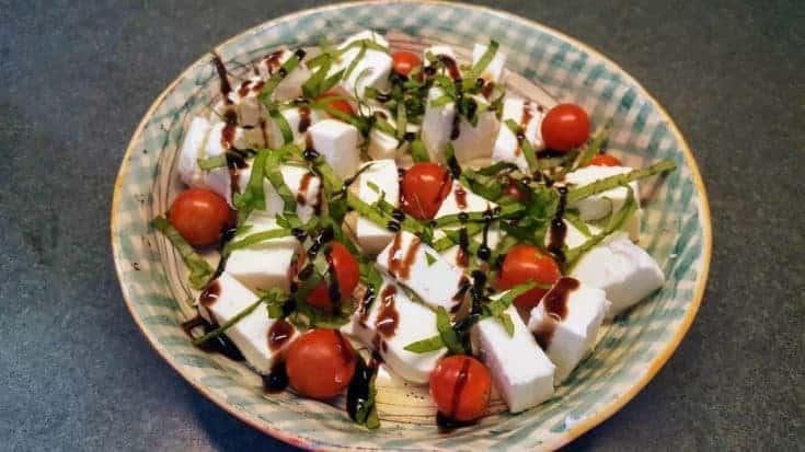 Fresh Mozzarella, Tomato, and Basil Salad
